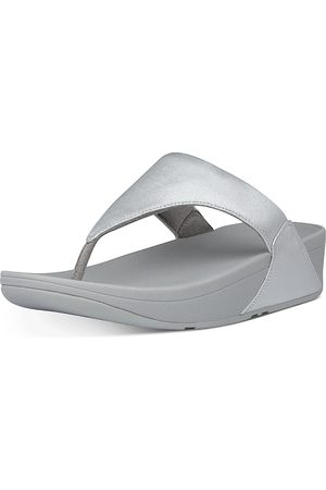 FitFlop Women's Lulu Slip On Thong Wedge Sandals