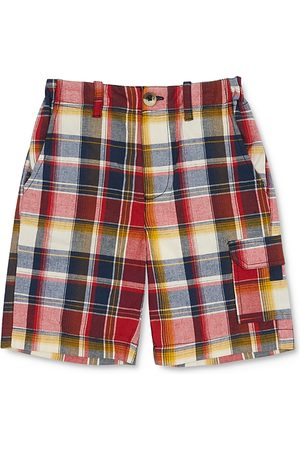 Peek Kids Boys' Plaid Cargo Shorts - Little Kid, Big Kid