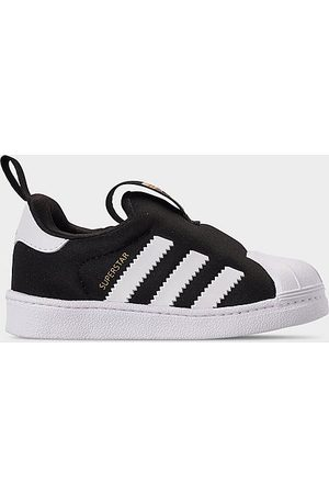 adidas Kids' Toddler Originals Superstar 360 Slip-On Casual Shoes in Size 6.0