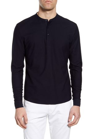 HUGO BOSS Men's Pal Slim Fit Long Sleeve Henley