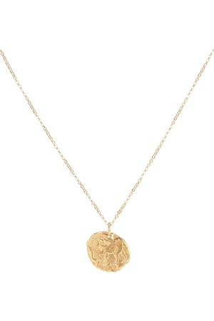 Alighieri Year Of The Horse 24kt -plated necklace