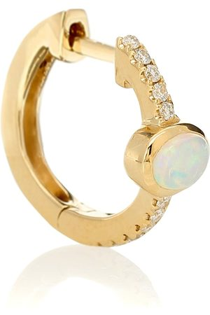 JACQUIE AICHE 14kt , diamond and gemstone earrings