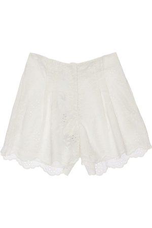 MONNALISA Eyelet Lace Shorts