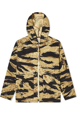 The Real McCoys Men Parkas - The Real McCoy's Tiger Camouflage Parka