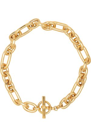 Tilly Sveaas Medium Watch 18kt -plated chain necklace