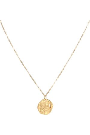 Alighieri Collier Year of the Dog 24kt -plated necklace