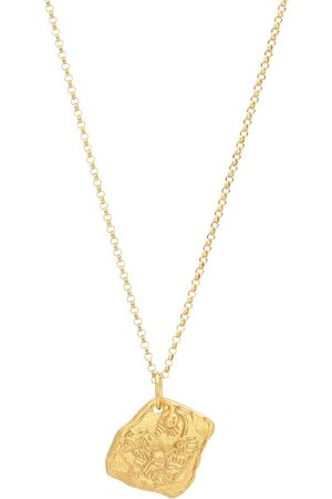 Alighieri Collier Year of the Tiger 24kt -plated necklace