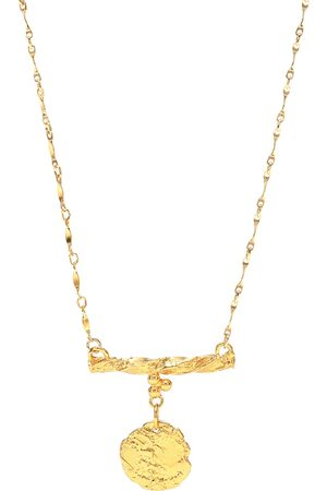 Alighieri The Impossible Horizon 24kt -plated bronze necklace