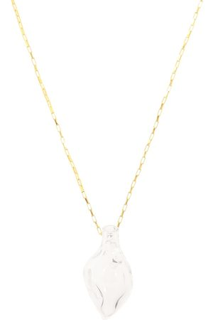 Alighieri Vessel With Tear 24-kt -plated necklace