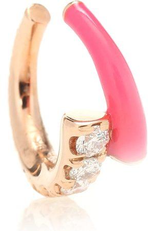 adidas Lola 18kt gold ear cuff with diamonds
