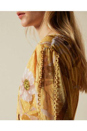 Ted Baker Women Party Dresses - Cabana Long Sleeve Mini Dress
