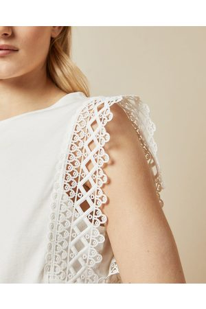 Ted Baker Lace Detail Sleeveless Top