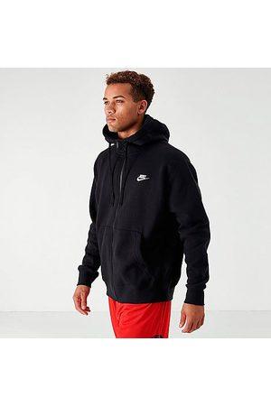 Nike Men Hoodies - Sportswear Club Fleece Full-Zip Hoodie in / Size X-Small Cotton/Polyester/Fleece