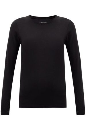 Another Tomorrow Long-sleeved Organic-cotton T-shirt - Womens