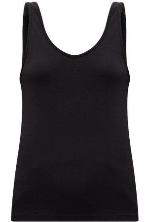 Another Tomorrow Women Camisoles - Scoop-neck Tank Top - Womens