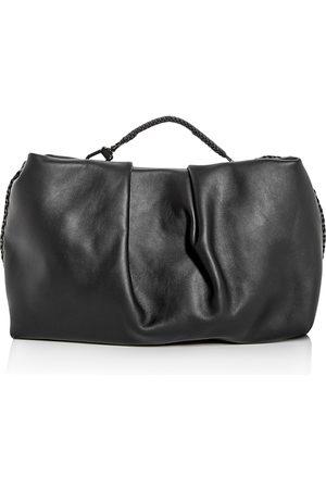 Callista Grace Top Handle Leather Clutch