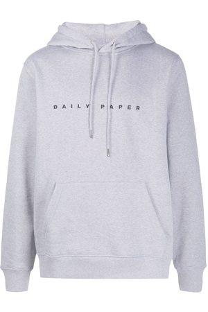 Daily paper Logo print hoodie - Grey