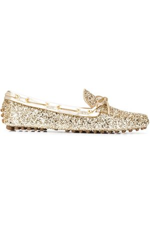 CAR SHOE Women Loafers - Glitter driving shoes