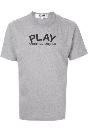 Comme des Garçons Logo print T-shirt - Grey