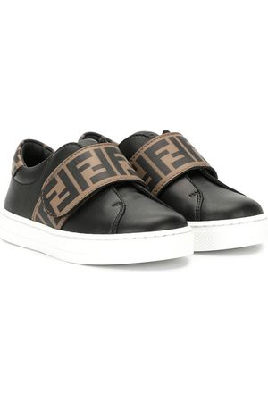 Fendi Monogram touch strap sneakers