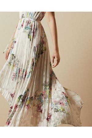 Ted Baker Women Dresses - Pergola Pleated Dip Hem Dress
