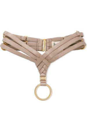BORDELLE Women Stockings - Asobi collar - NEUTRALS
