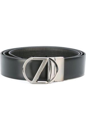 Z Zegna Men Belts - Logo buckle belt