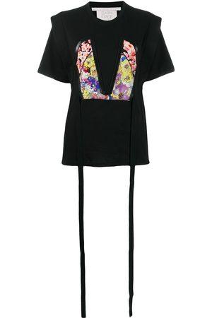 Stella McCartney Women T-shirts - Floral bodice patch T-shirt