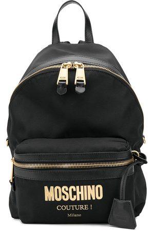 Moschino Men Rucksacks - Logo print backpack
