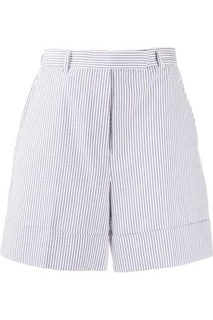 Thom Browne High-waist striped shorts