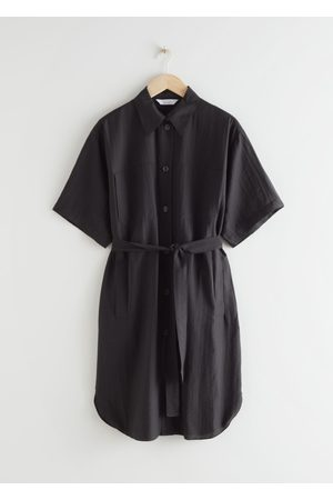 & OTHER STORIES Women Casual Dresses - Oversized Shirt Midi Dress