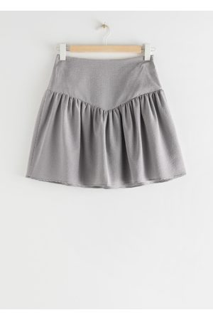 & OTHER STORIES Frilled Mini Skirt