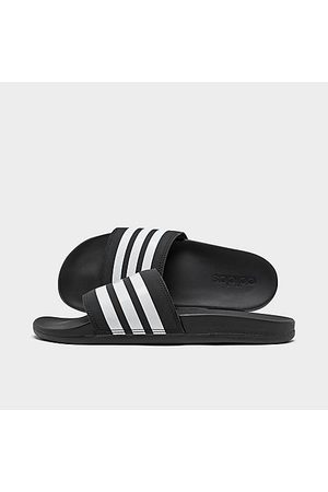 adidas Men Sandals - Men's Adilette Cloudfoam Plus Slide Sandals in