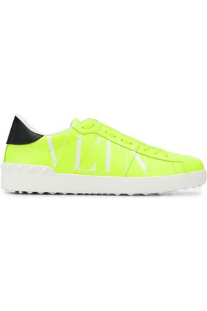 VALENTINO VLTN open leather sneakers