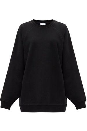 Raey Women Sweatshirts - Organic And Recycled-yarn Cotton-blend Sweatshirt - Womens