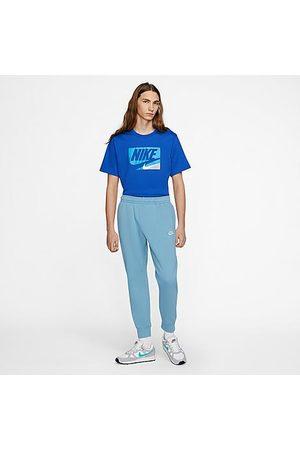 Nike Sportswear Club Fleece Jogger Pants in /Cerulean Size Small Cotton/Polyester/Fleece