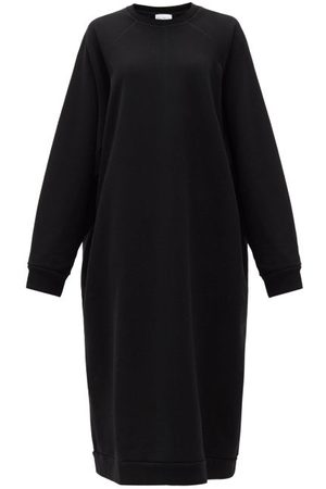 Raey Recycled-yarn Cotton-blend Sweatshirt Dress - Womens