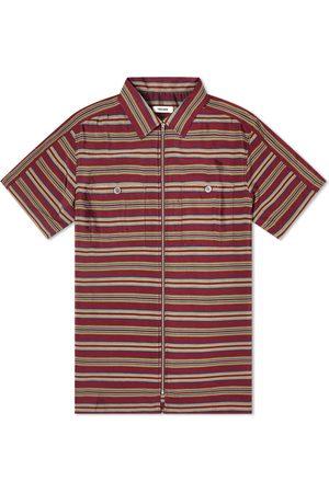Très Bien Stripe Zip Shirt