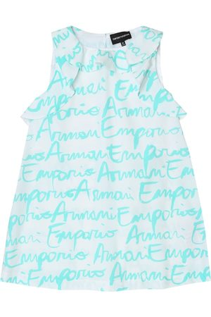 Emporio Armani Printed cotton dress