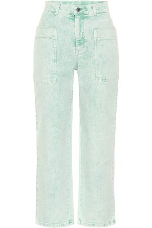 Stella McCartney High-rise straight jeans