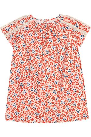 BONPOINT Natacha floral cotton dress