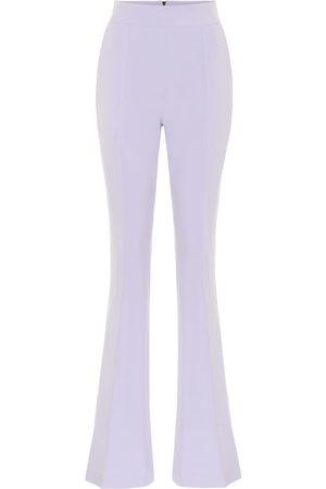 MATICEVSKI Industry Bell stretch-crêpe pants