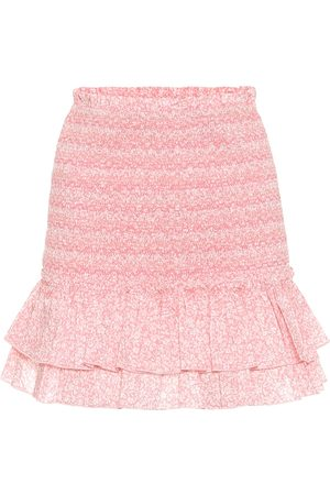 JONATHAN SIMKHAI Sydney floral cotton miniskirt