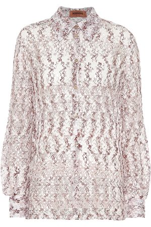 Missoni Crochet-knit shirt