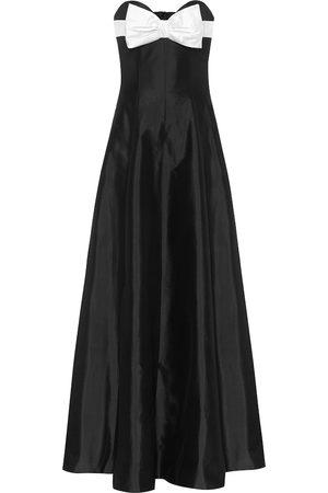 RASARIO Off-shoulder silk gown