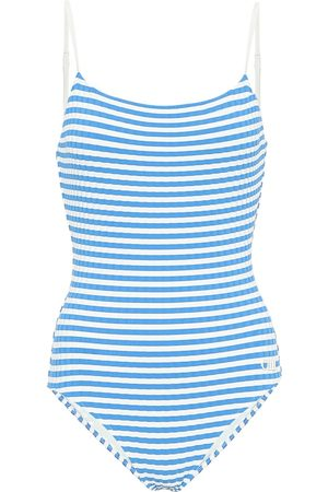 Solid The Nina striped swimsuit