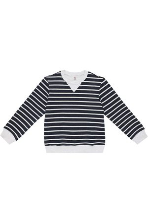 Brunello Cucinelli Striped cotton sweater
