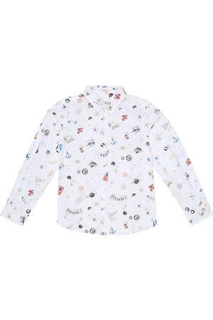 BONPOINT Acteur printed cotton shirt