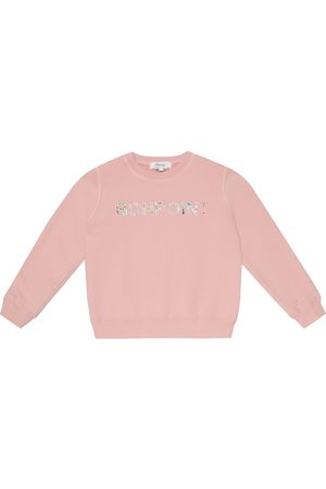 BONPOINT Logo cotton sweatshirt