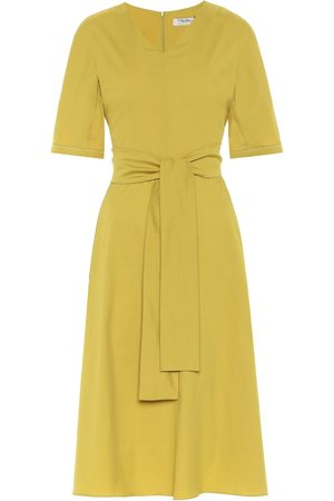 Max Mara Lea cotton poplin midi dress